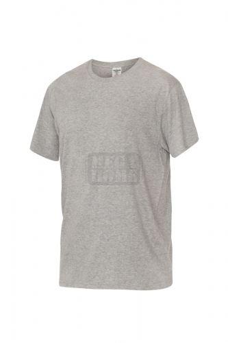 Работна тениска с обло деколте Fuji светло сива