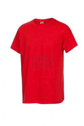 Работна тениска с обло деколте Fuji червена