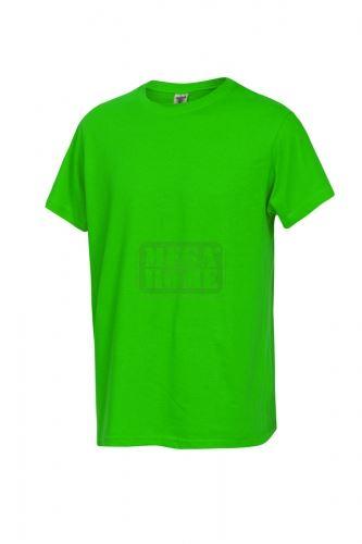 Работна тениска с обло деколте Fuji зелена