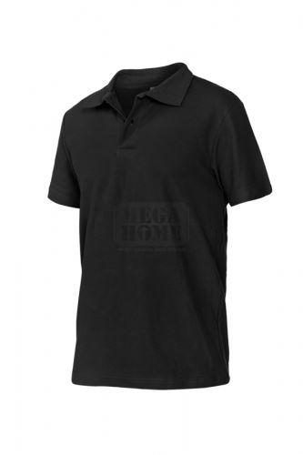 Блуза пике Polo черна