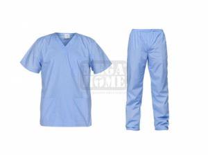 Медицински комплект туника и панталон Cesare мед. син