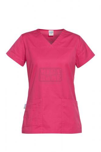 Медицинска дамска туника Andrea розова