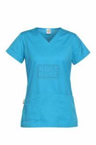 Медицинска дамска туника Andrea синя