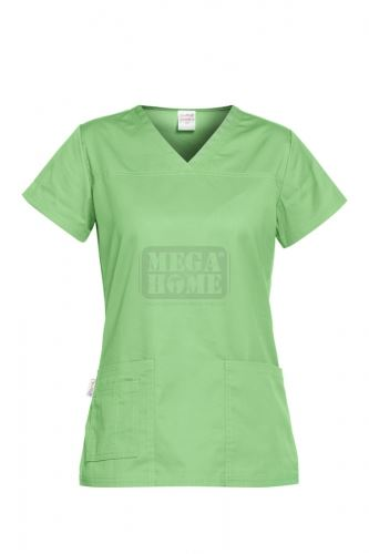Медицинска дамска туника Andrea зелена