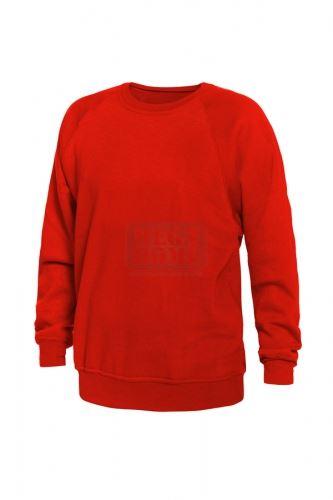 Работна ватирана блуза Moscow червена