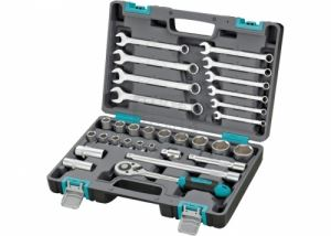 Комплект инструменти 31 части 1/2 в пластмасов куфар Stels