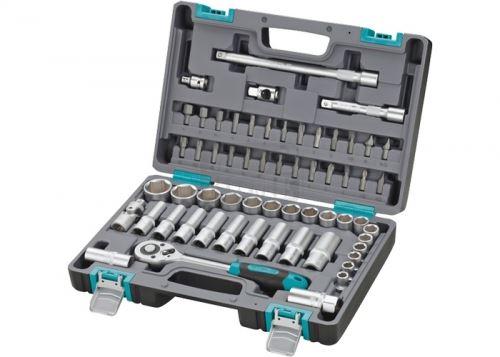 Комплект инструменти 60 части 1/2 в пластмасов куфар Stels