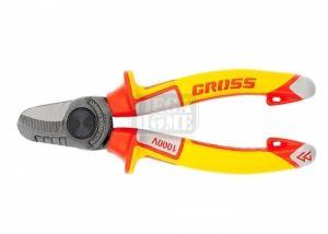 Ножица за рязане на кабел 160 мм изолирана до 1000 V Gross