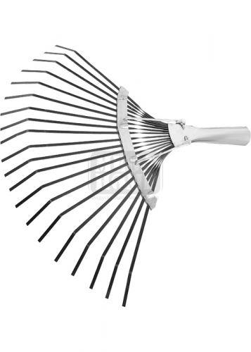 Гребло за листа тип ветрило 20 зъба 400 мм без дръжка СИБРТЕХ