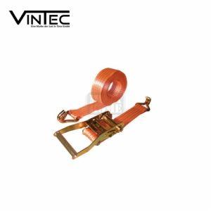 Обтяжен колан с тресчотен механизъм и куки, 8 m, 5.0 Т VINTEC