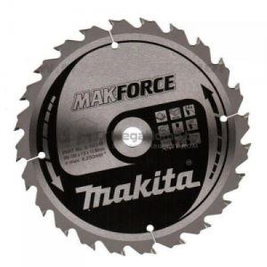 Циркулярен HW диск за дърво Makita 190 мм х 30 мм z12 Makforce