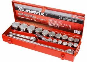 Комплект инструменти 20 части 3/4 19 - 50 мм MTX