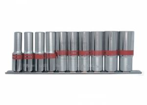 Комплект вложки удължени 3/8 6-стенни 10 броя 8 - 19 мм MTX