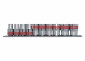 Комплект вложки универсални 1/4 SPLINE 10 броя 4 - 13 мм MTX