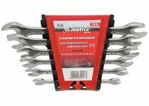Комплект ключове гаечни 6 - 17 мм 6 броя Elliptical MTX Master