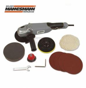 Ъглошлайф с диск за полиране 950W Mannesmann