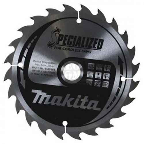 Циркулярен HW диск за дърво Makita 165 мм х 20 мм z40