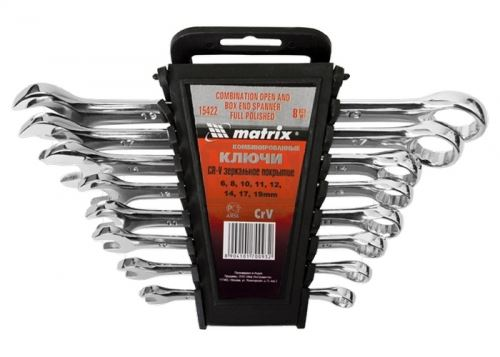 Комплект ключове звездогаечни 6 - 32 мм 25 броя полирани MTX