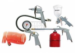 Комплект пневматични инструменти 5 части с бързи връзки MTX