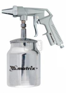 Пневматичен пистолет за пясък с долно казанче MTX