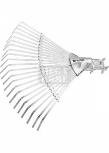 Гребло за листа тип ветрило 22 зъба без дръжка Palisad