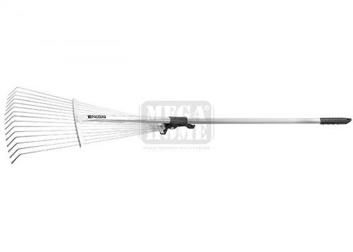 Гребло за листа тип ветрило 15 зъба с дръжка 1600 мм Palisad