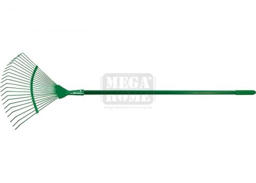 Гребло за листа тип ветрило 22 зъба с дръжка 1500 мм Palisad