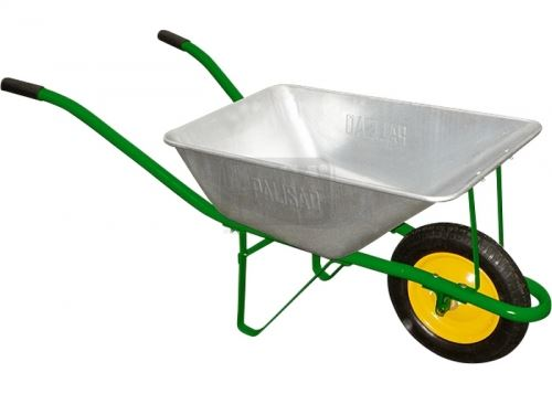 Градинска количка с товароподемност 120 кг обем 58 л Palisad