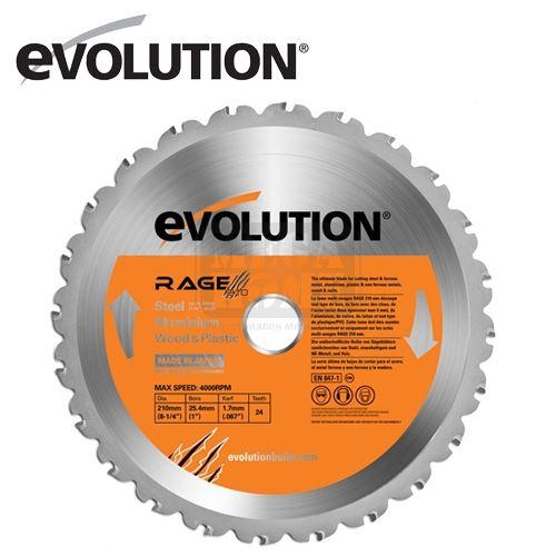 Универсален диск RAGE 210 mm EVOLUTION