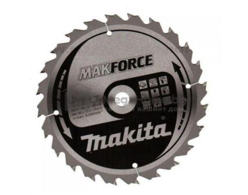 Циркулярен HW диск за дърво Makita 235 мм х 30 мм z24 Makforce