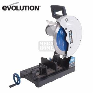 Отрезна машина EVOSAW355 с диск за рязане на стомана EVOLUTION