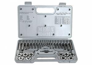 Комплект метчици и плашки М3 - М12 31 части MTX Master