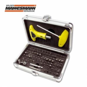 Комплект накрайници за отвертка 102 бр Mannesmann