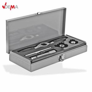 Комплект метчици и плашки за нарязване на резби 5 части DEMA