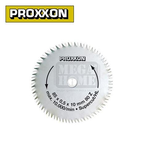 Резервен диск за настолен циркуляр FET, 80 зъба PROXXON