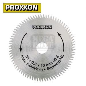 Режещ диск за циркуляр, 80 зъба PROXXON