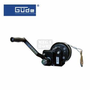 Ръчна лебедка 720 кг 20 м стоманено въже GÜDE