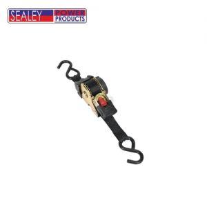 Обтяжен колан с тресчотен механизъм 50 mm x 3m SEALEY