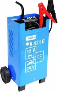 Зарядно за акумулатор V 421 C GÜDE 85074 12 V / 24 V