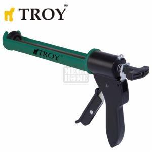 Професионален пистолет за силикон Troy