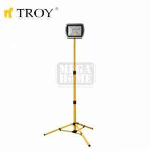 Прожектор с телескопична стойка 80W Troy
