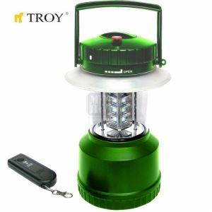 Акумулаторна къмпинг лампа с дистанционно Troy