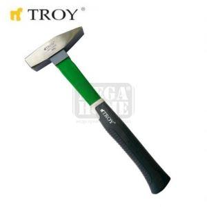 Шлосерски чук с фибергласова ръкохватка 2000 gr Troy