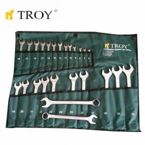 Комплект звездогаечни ключове, 25 части Troy