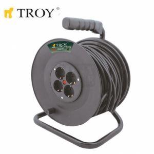 Разклонител с кабел 50 метра Troy