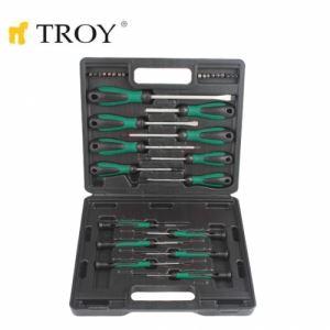 Комплект професионални отвертки, 32 части Troy