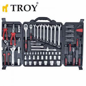 Професионален комплект ръчни инструменти, 110 части Troy