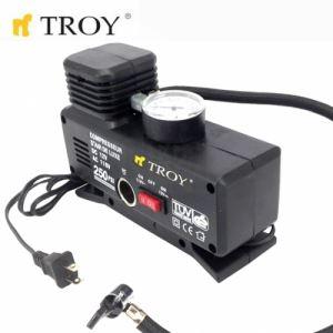 Мини компресор за въздух, 220V-AC и 12V-DC Troy