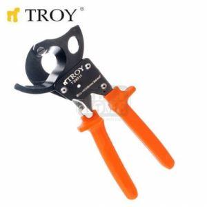 Ножица за рязане на кабели с изолирани ръкохватки Troy