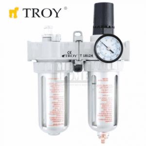 Пневматичен филтър, регулатор и омаслител Troy